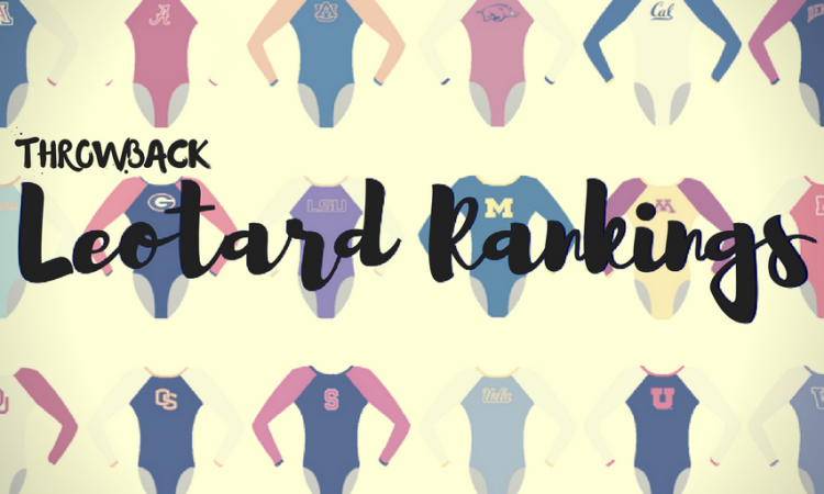 throwback leotard rankings