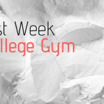 Last Week in College Gym graphic