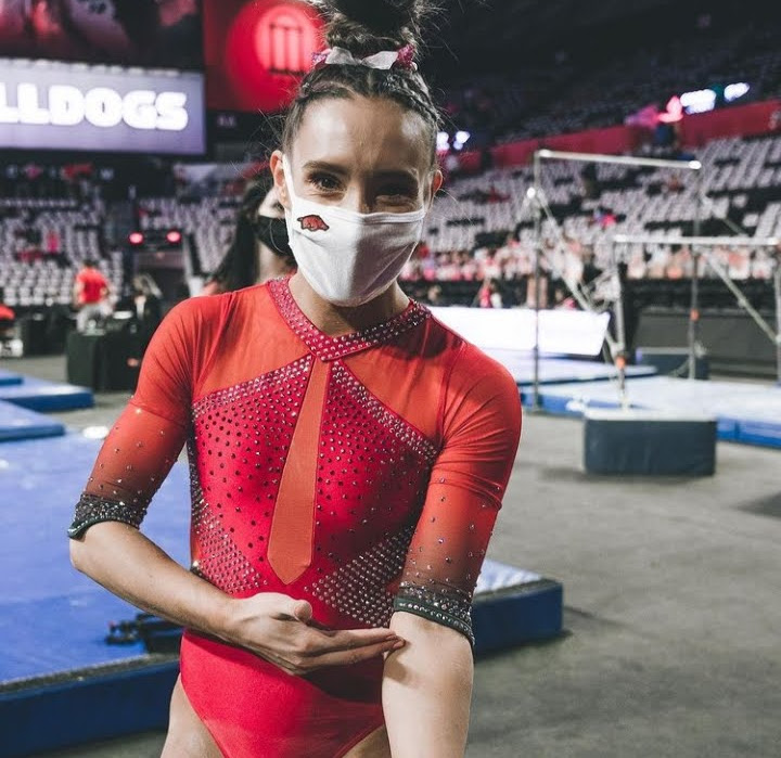 Kennedy Hambrick shows off a beautiful red leo